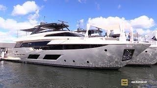 2019 Ferretti 920 Luxury Yacht - Deck and Interior Walkaround - 2018 Fort Lauderdale Boat Show