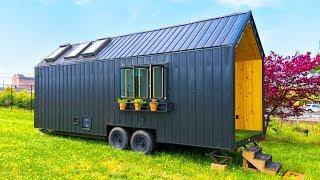 Gorgeous The 26' One Level Modern Luxury Tiny House RV | Living Design For A Tiny House