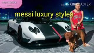 LUXURY: messi Lifestyle, Girlfriend, Networth, Cars and house