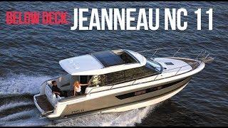 Boat Tour - Jeanneau NC11 - Luxury Motor Cruiser - Sports boat - Below Deck