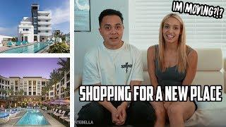 SHOPPING FOR A NEW LUXURY APARTMENT! (2018 VLOG)