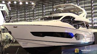 2019 Sunseeker 76 Luxury Motor Yacht - Walkaround - 2019 Boot Dusseldorf