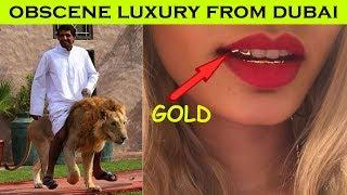26 Pictures of Obscene Luxury From Dubai | Crazy Things You Will Only See In Dubai