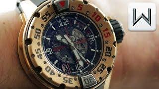 Richard Mille RM 028 Dive Watch RM028AKRG Luxury Watch Review