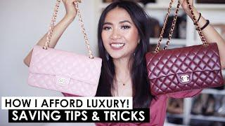 HOW I AFFORD LUXURY | Money saving tips & tricks