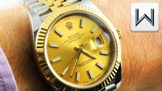 Rolex Datejust 41 Jubilee Bracelet 41mm 126333 Superlative Chronometer Luxury Watch Review
