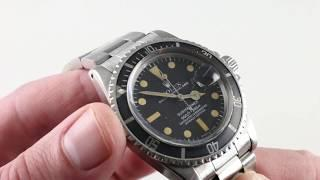 Rolex Submariner 1680 Vintage Rolex Luxury Watch Review
