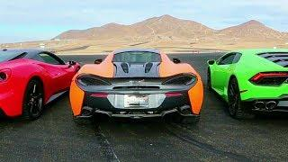 Dobre Brothers New Luxury Cars (Music Video) ft. Lamborghini vs McLaren vs Ferrari [Battle Racing]
