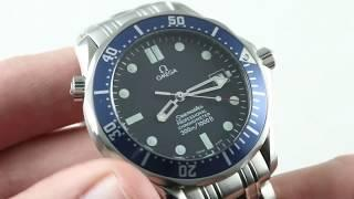 Omega Seamaster Diver 300m JAMES BOND 007 (2531.80.00 Professional) Luxury Watch Review