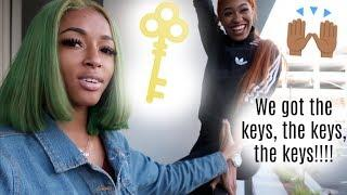 WE GOT OUR KEYS TO OUR NEW LUXURY APARTMENT IN LA