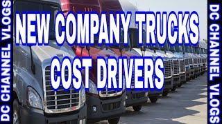 TRUCKING TALK: Trucking Luxury Cost Drivers Money  | VLOG