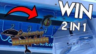 2 Sachen AUF-EINMAL am Luxury Dolphin gewonnen!!!