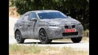 New Renault Kadjar coupe-SUV spied ahead of Moscow reveal