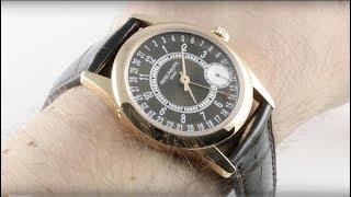 Patek Philippe Calatrava 6000R-001 Luxury Watch Review