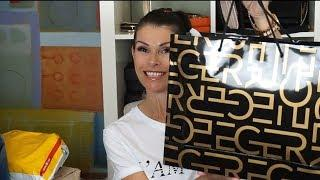 UNBOXING HAUL, LOUIS VUITTON/ NEO NOE STUFF ORGANIZING, LUXURY SHOES AND MORE....lvlovermj