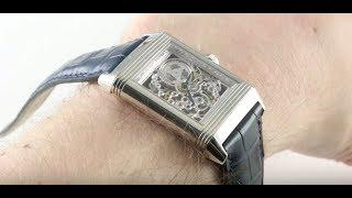 Jaeger-LeCoultre Platinum Reverso Number 1 Skeleton Q2166401 Luxury Watch Review