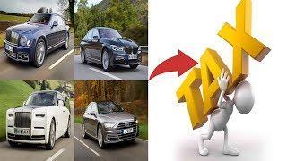 CAR DEALERS FUMES 0n New NANA ADD0  TAX 0n LUXURY CARS