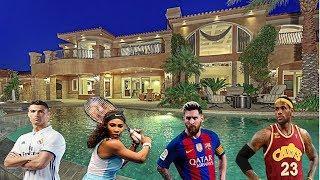 Ünlü Sporcuların Lüks ve Pahalı Evleri | 2018 ● Top 7