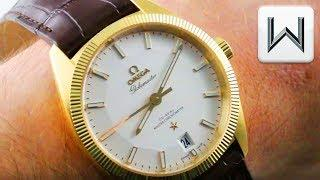 Omega Constellation Globemaster Solid Gold (130.53.39.21.02.002) Luxury Watch Review