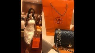 SHOPPING AT HERMES AND DIOR | LUXURY SHOPPING VLOG| COME WITH ME