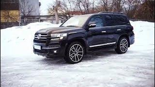 New Toyota Land Cruiser V8 2019 Body Kit Modification
