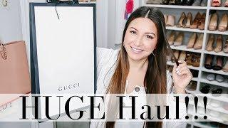 HUGE LUXURY + TRY-ON HAUL - Gucci, Louis Vuitton, Vincero | LuxMommy