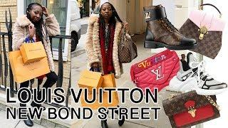 Christmas Luxury Shopping at Louis Vuitton New Bond Street! | Choosing my Next Handbag!
