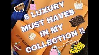 5 LUXURY MUST HAVES TAG !! WHAT DID I PICK?!?!