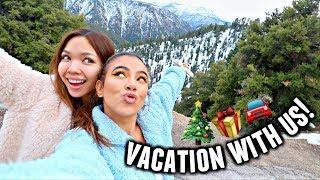 LUXURY GIRLS TRIP TO BIG BEAR!???? | Vlogmas Day 9