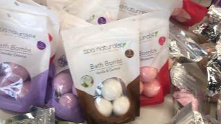 Spa Naturals Luxury Collection bath bombs at Dollar Tree