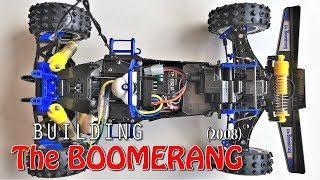 BUiLDiNG the Tamiya Boomerang 2008 1/10 4WD Buggy (Tamiya #58418) 1980ies RC Icon Part 2/4!