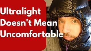 3 Backpacking Luxury Items - for the 7lbs Ultralight hiker