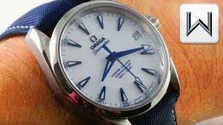 "Omega Seamaster Aqua Terra 150M ""Good Planet"" (231.92.39.21.04.001) Luxury Watch Review"