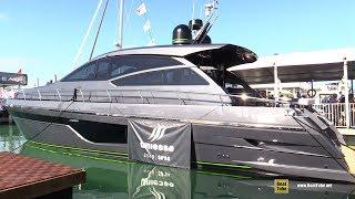 2019 Uniesse 56 SS Luxury Motor Yacht - Deck and Interior Walkthrough - 2019 Miami Boat Show