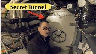 Secret Tunnel On A Luxury Yacht (Captain's Vlog 48)