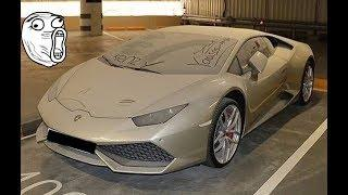 60 Abandoned Supercars and Luxury cars around the World 2018 Part.52 - Ferrari Lamborghini Bugatti