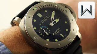 Panerai Luminor Submersible 1950 Regatta 3 Days (PAM 371) Luxury Watch Review