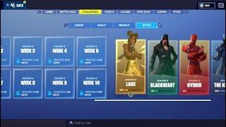 FORTNITE LUXE CHALLENGES