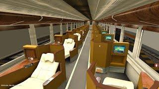 Lihat Interior K1 18 Luxury Sleeper Indonesia Versi Virtual Kereta Termewah - Trainz Simulator