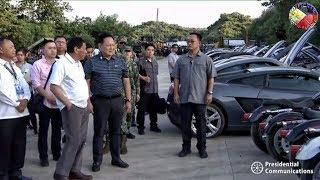 DUTERTE LATEST NEWS JULY 30 2018 | WITNESS THE DESTRUCTION OF CONTRABAND LUXURY VEHICLES IN CAGAYAN