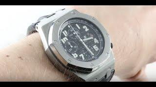Audemars Piguet Royal Oak Offshore Chronograph 26020ST.OO.D101CR.01 Luxury Watch Review