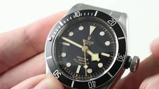 "Tudor Heritage Black Bay Black ""Black Rose"" 79220N Luxury Watch Review"