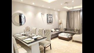 ₹25 lacs | 1045 sq ft 2 bedroom spacious semi furnished luxury apartments
