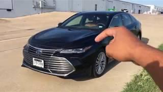 2019 Toyota Avalon Hybrid Review---The Most Luxurious Toyota On Sale!