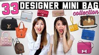 ENTIRE DESIGNER MINI HANDBAG COLLECTION! 33 LUXURY BAGS ???? | Collab with LVLoverCC