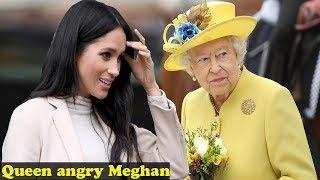 The Queen angry because Meghan's luxury New York trip