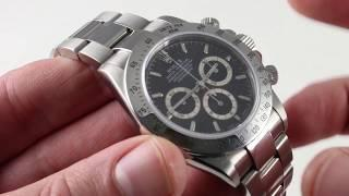 Rolex Oyster Perpetual Daytona 16520 Luxury Watch Review