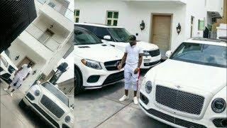Davido Show Off Cars, Bentley & Chioma Porsche Worth 400 Million | Wizkid With Son & Tiwa Savage