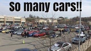 1st Pittsburgh Cars and Coffee of 2019 and it was PACKED!!