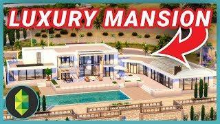Luxury Mansion Renovation (Sims 4 Build)